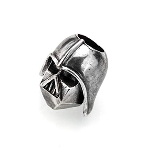Fashbag Bead Charms for Jewelry Making,Spartan Helmet Beads Metal Antique Silver, Gold Or Bronze Charms for Paracord Bracelet Accessories Survival,DIY Pendant Buckle Antique Silve-AC1858