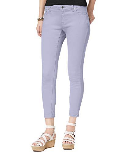 (Michael Kors Womens Izzy Skinny Ankle Jeans, Light Quartz, 16 )