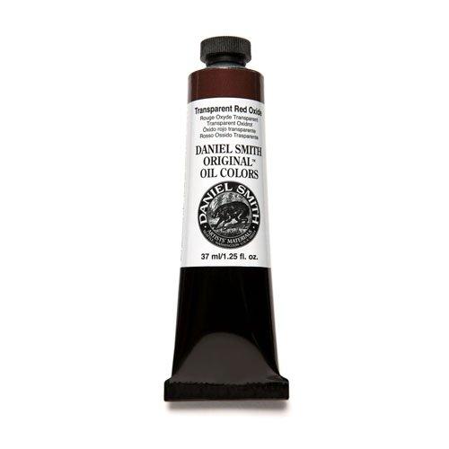 (DANIEL SMITH COPMIN-101Daniel Smith Original Oil Color 37ml Paint Tube, Transparent Red Oxide (284300125))