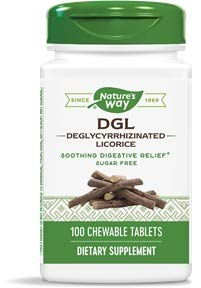 Licorice Dgl Chewable - Enzymatic Therapy, DGL (Without Fructose), 100 Chewable Tablets. Pack of 1