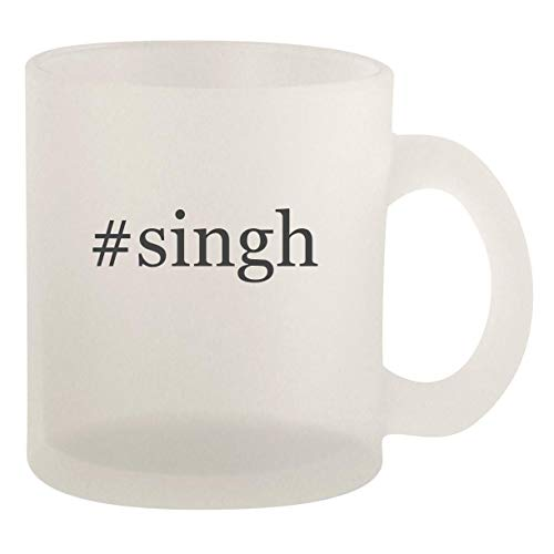 #singh - Glass 10oz Frosted Coffee Mug (Life Five Best Ghazals Jagjit Singh)