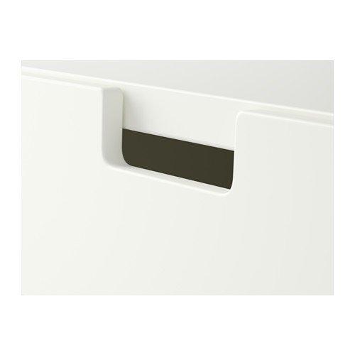 IKEA stuva Banco baúl, Color Blanco (90 x 50 x 50 cm), con ...