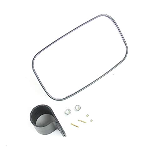 2' Kawasaki Mule - Kawasaki Mule 400 520 610 820 2020 2500 Black UTV Rear View Mirror Kit