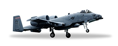 Herpa Wings 558273 A-10C Arkansas ANG 'Razorbacks' 1/200 Scale Diecast Model