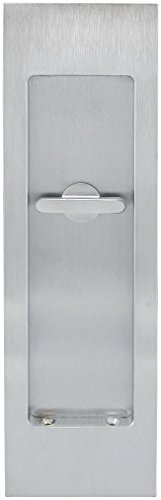 (INOX FH2782-26D PD Series Pocket Linear Flush Pull with TT08 Thumb Turn, Satin Chrome)
