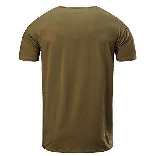 Blanche Manche Homme T Haut Sweat Pas La Tee Courte Cher Chemise À Vetement Kaki4 shirt Mode Vest Gilet Top A CPPxwa5q