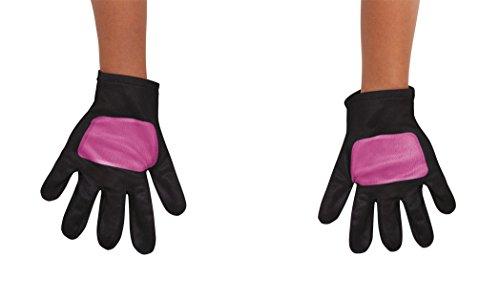 Pink Power Ranger Toddler Costumes (Power Rangers Ninja Steel Toddler Gloves, Pink, One Size)