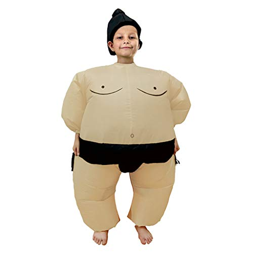 PoppyCos Inflatable Kids Sumo Wrestler Wrestling Suits Halloween Costume by PoppyCos Cosplay Costume