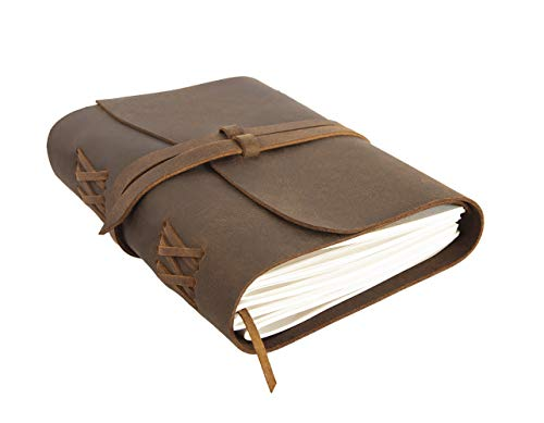 Leather Journal Refillable Notebook Jofelo Lined