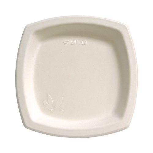 SOLO-8PSC-2050-Bare-Sugarcane-Dinnerware-825-Ivory-Case-of-500