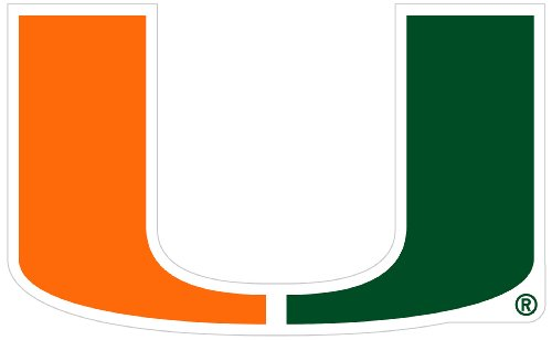 - Siskiyou NCAA Miami Hurricanes 8