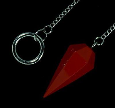Red Jasper Crystal Pendulum