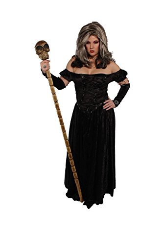Alexanders Costumes Women's Midnight Mistress, Black, Medium/Large