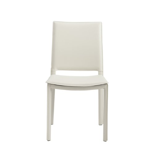 Modern Contemporary Urban Design Kitchen Dining Side Chair: Kate Leatherette Dining Kitchen Side Chair