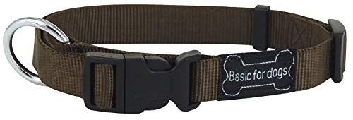 Wouapy Basic Line Dog Collar 44/65 cm Brown