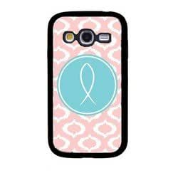 Ichthus Baby Pink Ikat Cute Hipster Samsung Galaxy Grand Duos I9080 I9082 Case - Fits Samsung Galaxy Grand Duos I9080 I9082