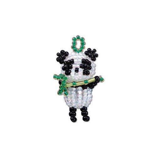 Miyuki Bead Kit Panda Charm