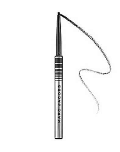 Marc Jacobs Beauty Fineliner Ultra-Skinny Gel Eye Crayon Eyeliner 0.0014oz. deluxe Blacquer - blackest, shiniest black by Marc Jacobs