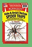 Big H Products Hobo & Brown Recluse Spider Traps Ten Trap Special