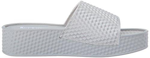 Women's Sandal Madden Us Slide Sharpie M Silver Steve 9 qf5OO