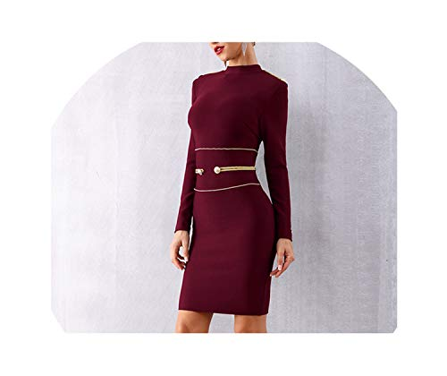 Genius-route-store 2019 New Spring Women Bandage Dress Sexy