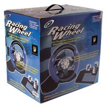 Ps2 Steering Wheel - Intec Racing Wheel for PS2, Game Cube, xBox