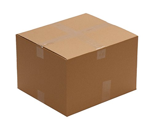 """Pack Of 25 AMERIQUE Corrugated Cardboard Standard Boxes, 16"""" Length X14"""" Width X10"""" Height Each, Tough And Durable, Meets all shipping and moving requirements (Pack Of 25) from AMERIQUE"""