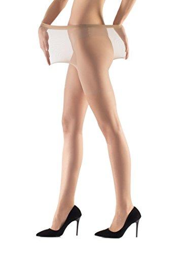 Women's 15 Denier Plus Size Tights Pantyhose XXL (Sahara)