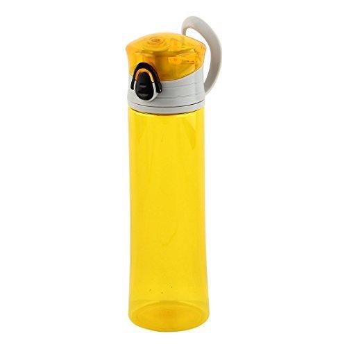 (eDealMax Plastique bouteille D'eau Portable, Tasse de Jus de Fruits, Vélo de conduite Cantine, Voyages Randonnée Bouilloire 400ml)