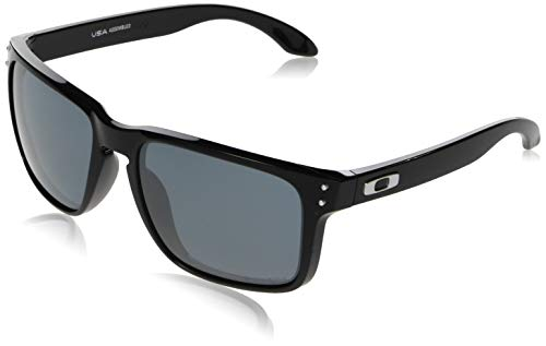Oakley Men's OO9417 Holbrook XL Square Sunglasses, Polished Black/Prizm Black, 59 mm (Oakley Holbrook Metall)