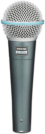 SHURE BETA 58A ダイナミックマイクロフォン [並行輸入品] B011JVHTZC