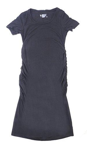 (Felina Ladies Size Medium Maternity T-Shirt Dress, Black )