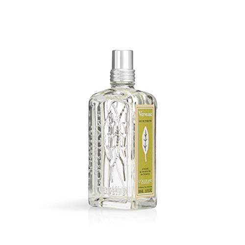 L'Occitane Refreshing Verbena Eau de Toilette Enriched with Organic Verbena, 3.3 fl. oz.