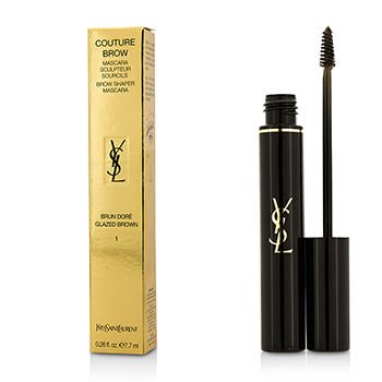 Yves Saint Laurent Couture Brow, No.1 Glazed Brown, 0.26 Ounce