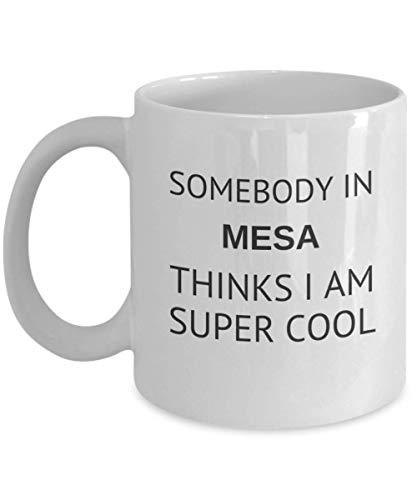 Cool Mesa Tea Mug Traveler Friend Gift Arizona Student Cup -