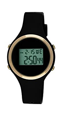 Moulin Ladies Digital Jelly Watch Black #03158-76628