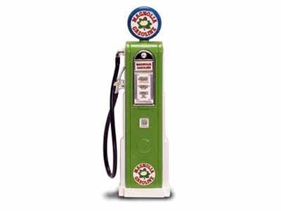 Replica Vintage Digital Gas Pump Magnolia Gasoline 1/18 1/18 Gasoline bc714c