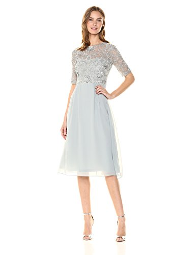 [해외]Adrianna Papell 여성 골치 아픈 건 드레스/Adrianna Papell Women`s Beaded Midi Dress