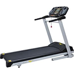 Everlast EV501 20X60 Foldable Treadmill Features 2.75 CHP motor and 24 Workout Programs with durable powder coat paint finish