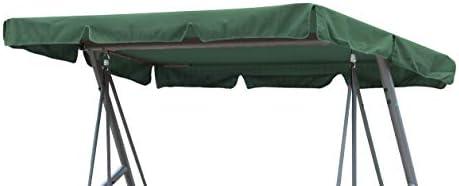 Grasekamp - Techo de Repuesto Universal para balancín de jardín, Calidad Desde 1972, Color Verde, toldo, Lona: Amazon.es: Hogar
