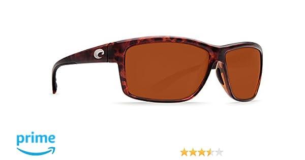 Costa Del Mar Mag Bay Sunglasses, Tortoise, Copper 580P Lens