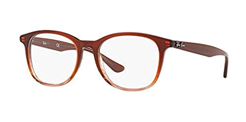 Stripped On Unisex Rx5356 ban Ray Eyeglasses Brown 7YZ4wq