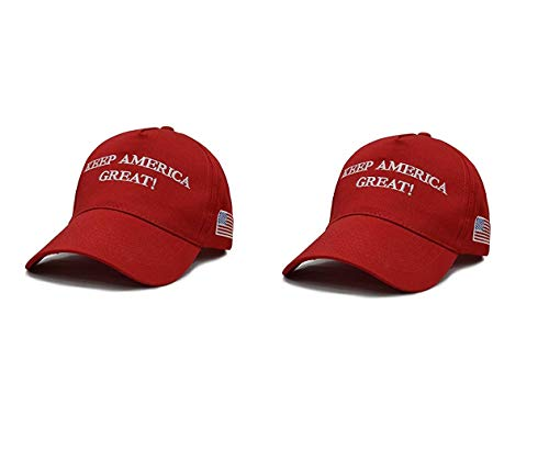 Ezone Make Great Again Hat With Trump Flag Keep Great Again 2020 Flag