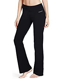 Women's Yoga Bootleg Pants Inner Pocket