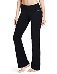 Baleaf Women's Bootleg Pants Inner Pocket