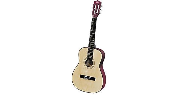 PEQUEBANDA Guitarra De Madera 91 cm.: Amazon.es: Juguetes y juegos