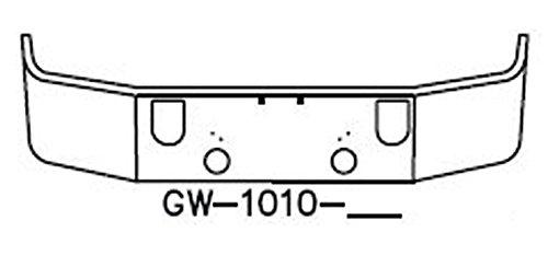 [해외]18 \\ / 18 SBA Chrome Bumper Mack CXN 613 2005 & Up CXP 613 2007 & Up by Valley Chrome