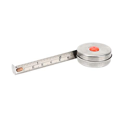 1 pcs Stainless Steel Tape Measure Measuring Ruler (1M) ()
