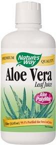 Natures Way Aloe Vera Whole Leaf Juice Organic -- 33.8 fl oz