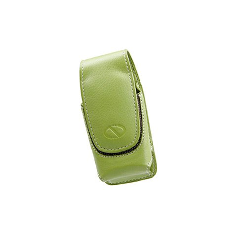 Ultima Cell Phone Case (Naztech 8630 Ultima Carrying Case for Small/Medium Bar Phones  - Non-Retail Packaging - Lime Green)